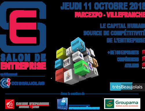 ANTHEA CONSEILS au Salon de l'Entreprise le 11 octobre 2018 à Villefranche Sur Saône
