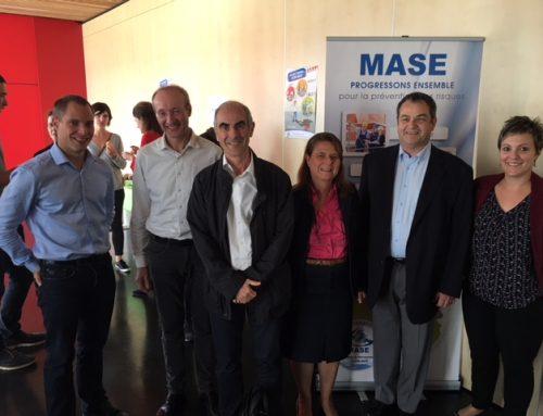 MASE Rhône-Alpes : Les auditeurs Rhône-Alpes ANTHEA CONSEILS, réunis pour la réunion MASE RA